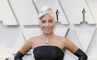 epa07394936 Lady Gaga arrives for the 91st annual Academy Awards ceremony at the Dolby Theatre in Hollywood, California, USA, 24 February 2019. The Oscars are presented for outstanding individual or collective efforts in 24 categories in filmmaking.  EPA/ETIENNE LAURENT