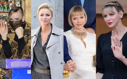 Charlene di Monaco, nuovo taglio di capelli: tutti i cambi di look
