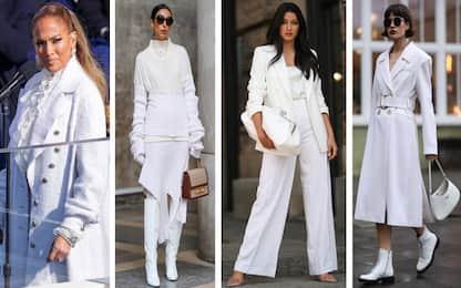 Look total white: come portare il bianco