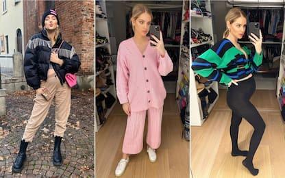 Abbigliamento premaman, i migliori look di Chiara Ferragni