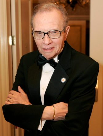 Larry King at The Larry King Cardiac Foundation Fundraising Gala (Photo by Paul Morigi/WireImage)
