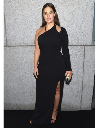 NEW YORK, NY - FEBRUARY 11:  Model Ashley Graham attends the 2015 amfAR New York Gala at Cipriani Wall Street on February 11, 2015 in New York City.  (Photo by Jamie McCarthy/WireImage)
