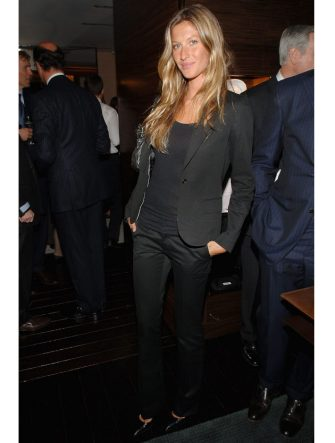 NEW YORK - MARCH 11:  Gisele Bundchen attends the Ermenegildo Zegna Store Opening on 5th Ave and 52nd Street in New York on March 11,2008  (Photo by Jamie McCarthy/WireImage)