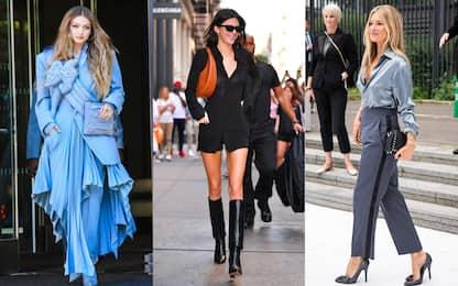 Moda: da Kate Moss a Bella Hadid, lo stile delle top model FOTO