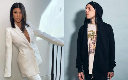 Kourtney Kardashian e Travis Barker sono una nuova coppia