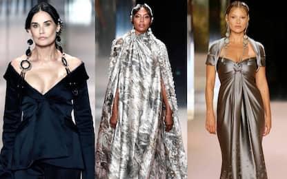 Milano Fashion Week 2021, Demi Moore e Kate Moss alla sfilata di Fendi