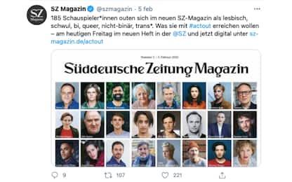 Germania, 185 attori e attrici fanno un coming out di massa