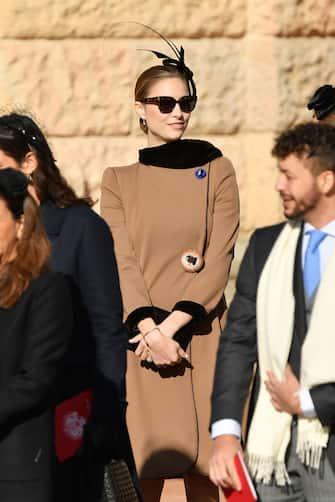 MONTE-CARLO, MONACO - NOVEMBER 19: Beatrice Casiraghi attends Monaco National Day Celebrations on November 19, 2018 in Monte-Carlo, Monaco.  (Photo by Pascal Le Segretain/Getty Images)