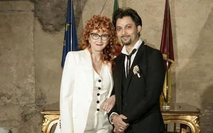 Fiorella Mannoia ha detto sì. La foto del matrimonio