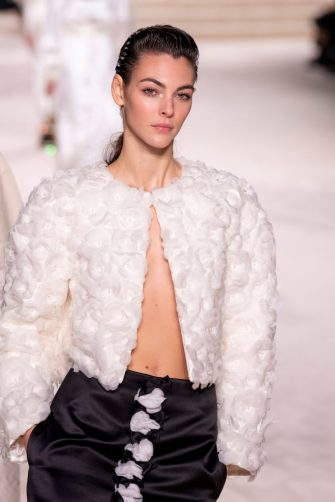 PARIS, FRANCE - DECEMBER 04: Vittoria Ceretti walks the runway during the Chanel Metiers d'Art 2019-2020 show at Le Grand Palais on December 04, 2019 in Paris, France. (Photo by Kristy Sparow/WireImage)