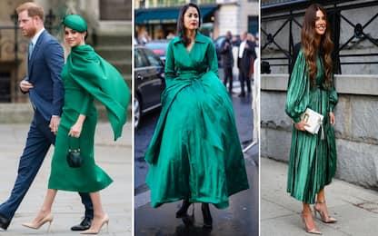 Verde smeraldo, indossarlo come Meghan
