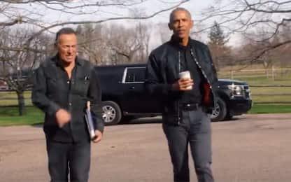 """Obama lancia il podcast """"Renegades: Born In The USA"""" con Springsteen"""