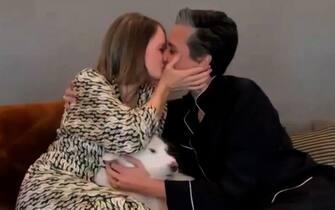 Jodie Foster bacio Golden Globe
