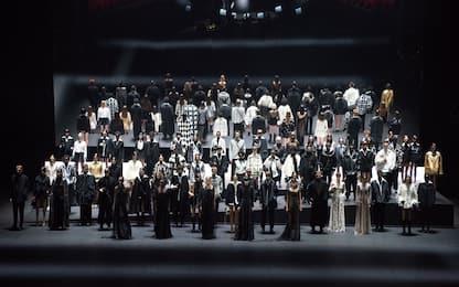 Milano Fashion Week 2021, la sfilata di Valentino. FOTO
