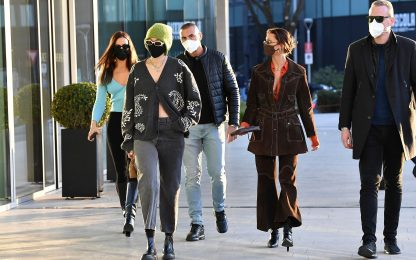 Da Gigi Hadid a Irina Shayk, le modelle a Milano per la Fashion Week