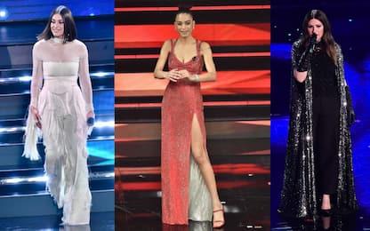 Sanremo 2021: i vestiti più belli della seconda serata. FOTO
