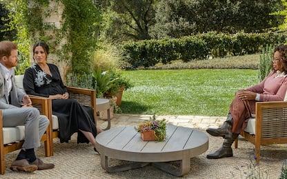 L'intervista di Oprah a Meghan e Harry in onda su TV8
