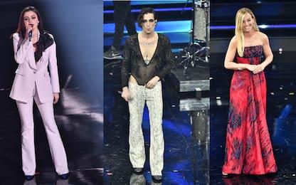 Sanremo 2021, i look più belli della quarta serata. FOTO