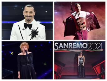 Sanremo 2021, gli ospiti della finale da Ibra a Ornella Vanoni. FOTO