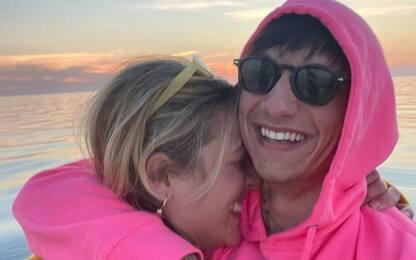 Ultimo fidanzato con Jacqueline Di Giacomo, figlia di Heather Parisi