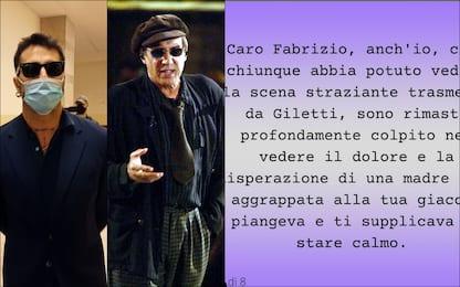 Adriano Celentano, lettera in difesa di Fabrizio Corona su Instagram