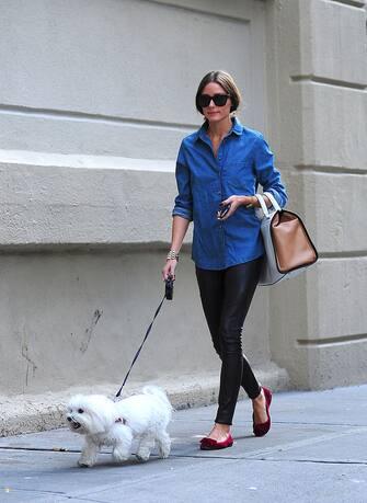 NEW YORK, NY - SEPTEMBER 25: Olivia Palermo is seen in Brooklyn on September 25, 2012 in New York City. (Photo by Alo Ceballos/FilmMagic)