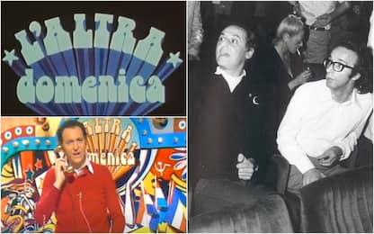 L'altra domenica, 45 anni fa la prima puntata del programma di Arbore