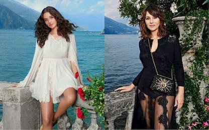 Monica Bellucci e Deva Cassel sul lago di Como per Dolce e Gabbana