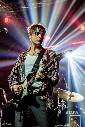 MILAN, ITALY - OCTOBER 13: Peter Doherty performs with the The Puta Madres at Magazzini Generali on October 13, 2019 in Milan, Italy. (Photo by Sergione Infuso/Corbis via Getty Images)