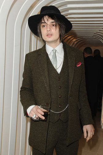PARIS - MARCH 08:  British singer Pete Doherty attends the Joseph flagship opening, as part of Paris fashion week, at Joseph store on March 8, 2010 in Paris, France.  (Photo by Francois G. Durand/WireImage)