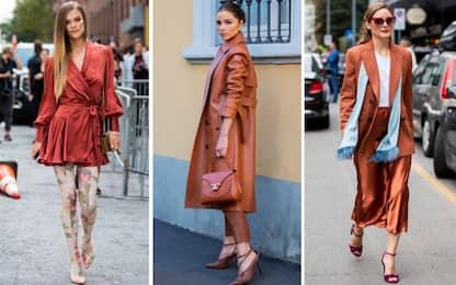 Color ruggine: il Rust Pantone è la sfumatura ideale per i look chic