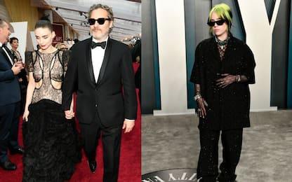 Rooney Mara, Joaquin Phoenix e Billie Eilish: burger veg ai senzatetto