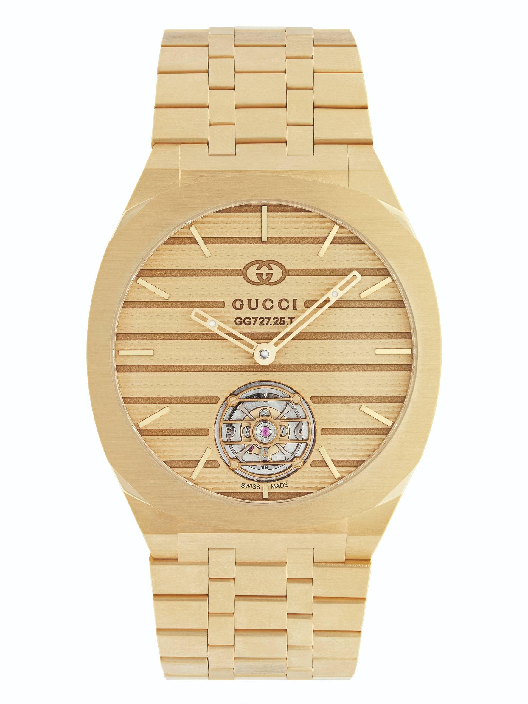 Gucci festeggia i suoi 100 anni con il debutto nell'alta orologeria