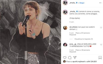 Chi è Enula, la cantante eliminata da Amici