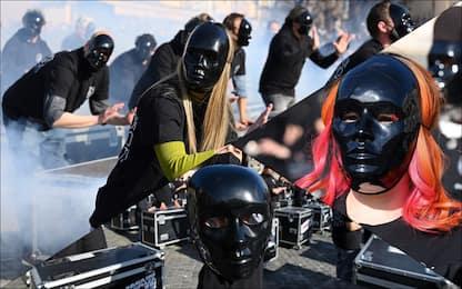 Bauli di nuovo in piazza, la manifestazione a Roma. FOTO