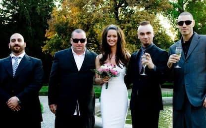 J-Ax e sua moglie Elaina Coker: le foto del matrimonio su Instagram
