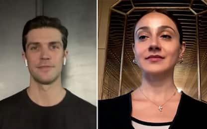 Giornata della danza, Roberto Bolle e Nicoletta Manni a Sky Tg24