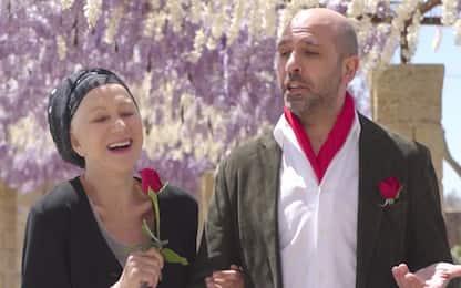 La Vacinada, il video di Checco Zalone con Helen Mirren in Salento