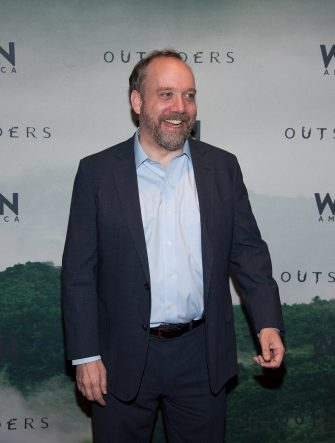 "NEW YORK, NY - OCTOBER 22:  Paul Giamatti attends the 11th Annual New York Television Festival - WGN's ""Outsiders"" Screening at SVA Theater on October 22, 2015 in New York City.  (Photo by Dave Kotinsky/Getty Images)"