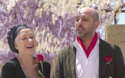 """Helen Mirren: """"Un onore lavorare con Checco Zalone"""""""