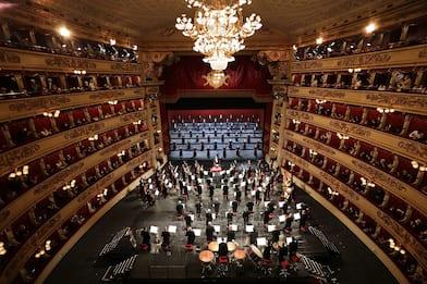 Teatro alla Scala, primo concerto col pubblico dopo chiusura per Covid