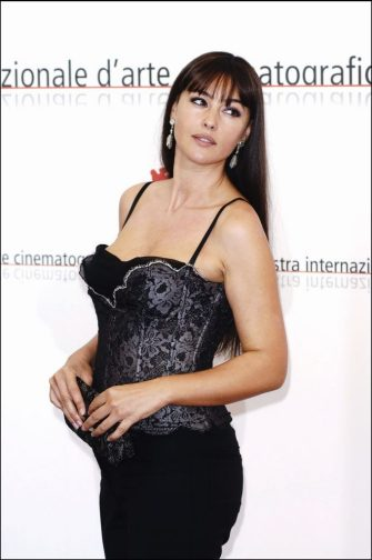 Actress Monica Bellucci. (Photo by Eric CATARINA/Gamma-Rapho via Getty Images)