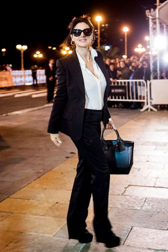 SAN SEBASTIAN, SPAIN - SEPTEMBER 18:  Monica Bellucci is seen arriving during 64th San Sebastian Film Festival at Maria Cristina Hotel on September 18, 2016 in San Sebastian, Spain.  (Photo by Juan Naharro Gimenez/WireImage)