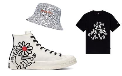 Converse, le opere di Keith Haring nelle nuove sneakers All Stars