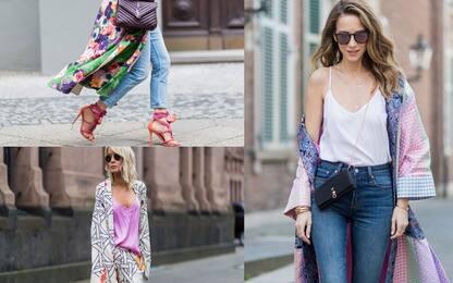 Moda, il ritorno del kimono. Come indossarlo