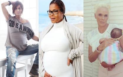 Mamme over 50, da Naomi Campbell a Gianna Nannini FOTO