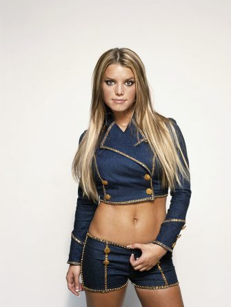 American singer Jessica Simpson, circa 2001. (Photo by Tim Roney/Getty Images)