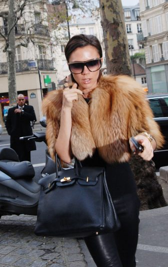 PARIS - DECEMBER 12:  Victoria Beckham sighting while shopping at MERCI concept store on December 12, 2009 in Paris, France.  (Photo by Trago/FilmMagic)