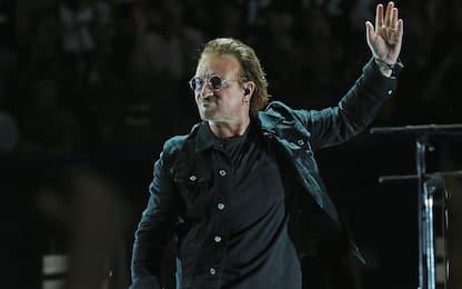 Bono Vox degli U2 avvistato in vacanza all'Isola d'Elba