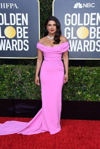 BEVERLY HILLS, CALIFORNIA - JANUARY 05: Priyanka Chopra Jonas attends the 77th Annual Golden Globe Awards at The Beverly Hilton Hotel on January 05, 2020 in Beverly Hills, California. (Photo by Jon Kopaloff/Getty Images)